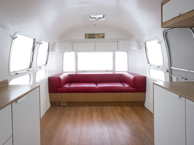 The story of the minimalist airstream american retro caravans blog - The minimalist caravan ...