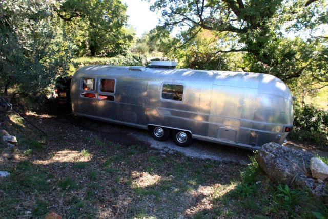 An airstream in france part one american retro caravans - Small spaces tv show channel gallery ...