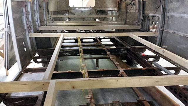 Airstream chassis repair