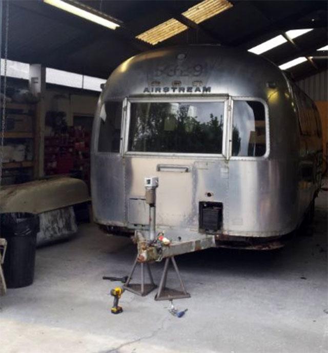 Luxury Airstream project gets underway