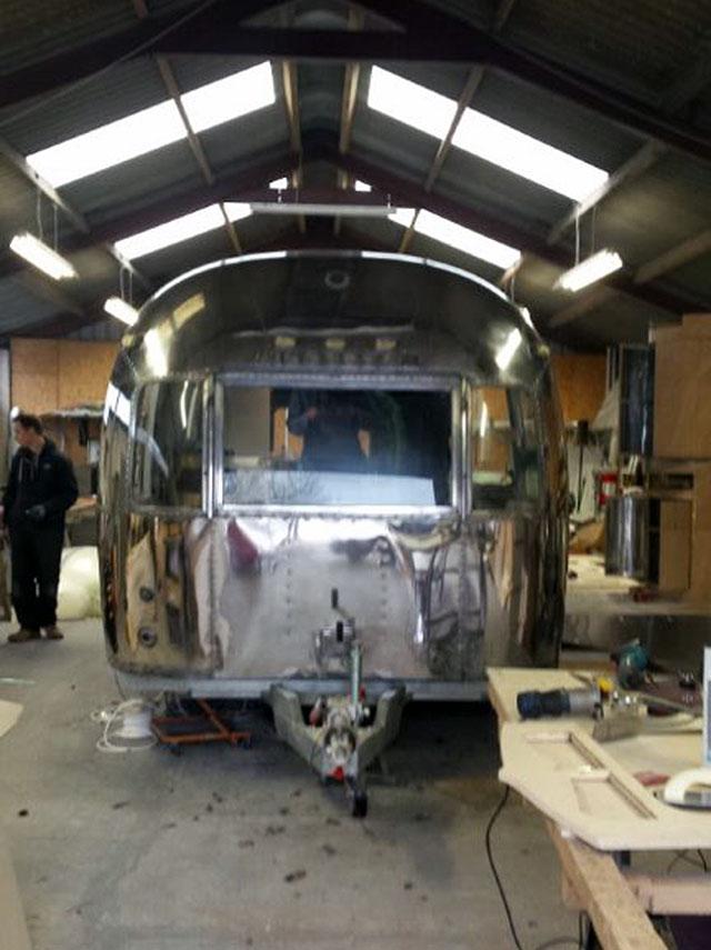 Airstream getting a polish