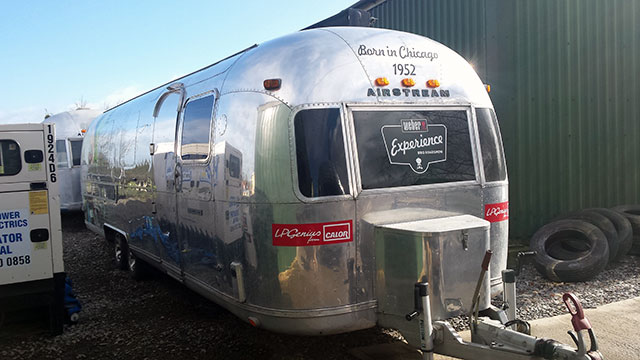 The Weber Barbecue Airstream