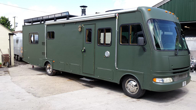 RVs in the ARC workshop