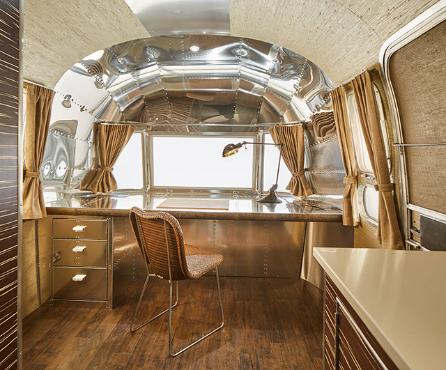 Airstream home office