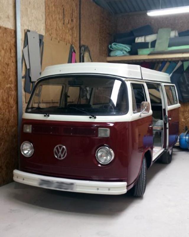 VW campervan retrim