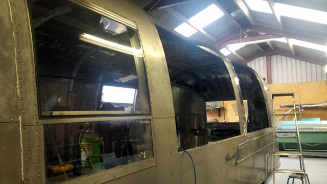 Airstream Catering hatches
