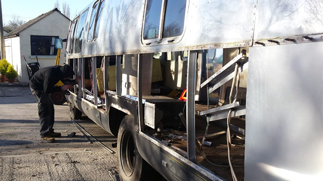 Airstream Insurance Work