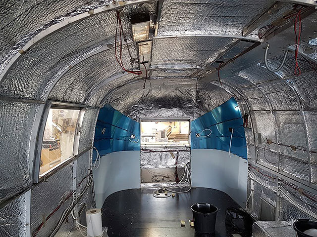 New Airstream bar project