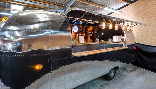 The Rum Runner Airstream Bar