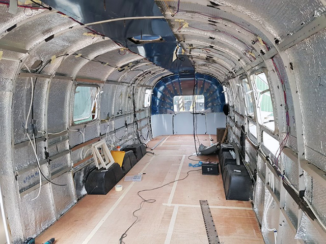 Tri Axle Airstream Project