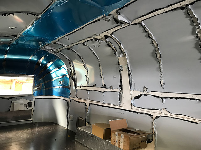 In the Airstream Workshop