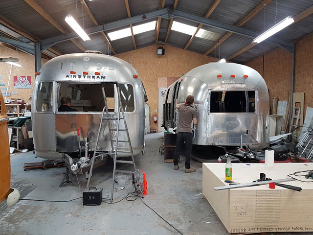 Aluminium Airstream templates