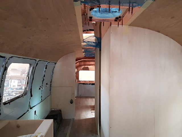 Airstream progress