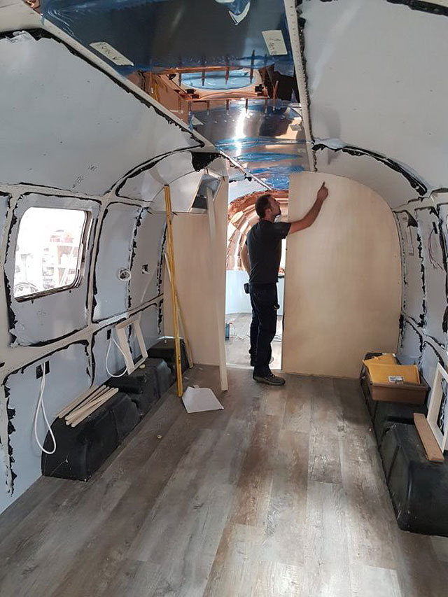 Airstream rebuild