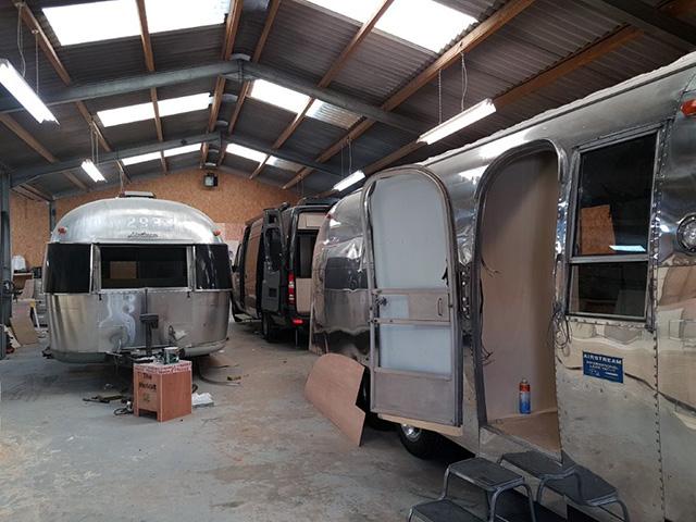 Airstream workshop
